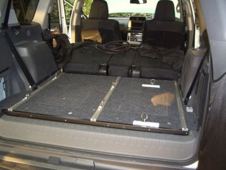Toyota Prado 150 Trunk Base Box and Deck - by Front Runner