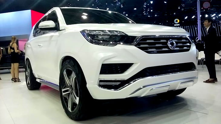 Концепт-кар SsangYong LIV-2