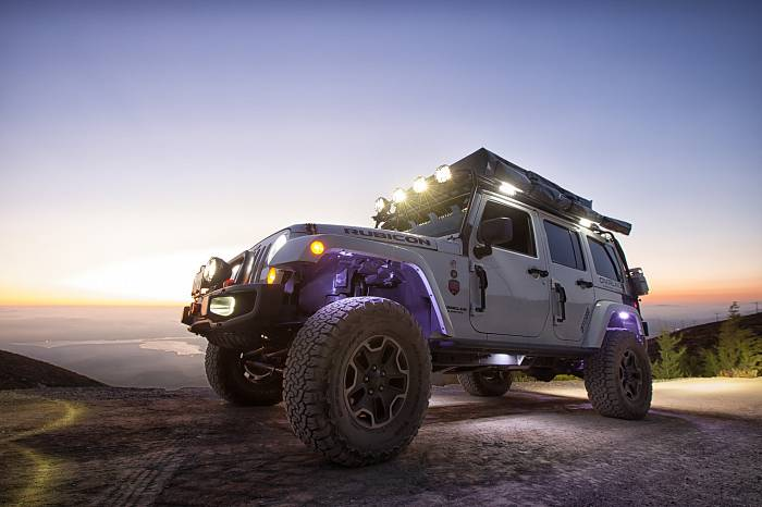 Crazy Jeep Wrangler JK