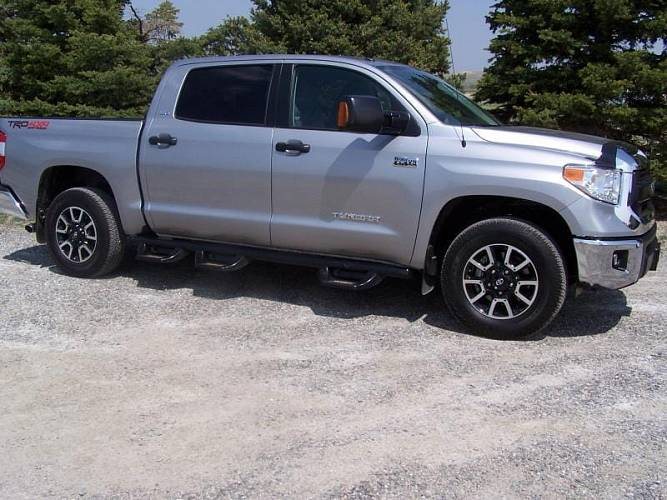 Пороги  для GMC - Chevy Canyon / Colorado Crew Cab 6' Long Box 15-16